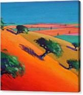 Ragged Stone Hill Canvas Print
