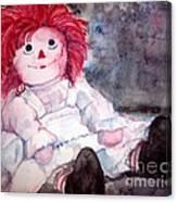 Raggedy Ann Canvas Print