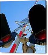 Rail Cro Canvas Print