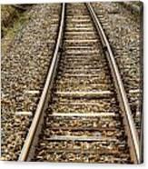 Rail Way Canvas Print