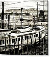 Rail Yard Blues Canvas Print