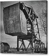 Railroad Bridge 10615b Canvas Print