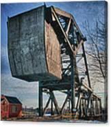 Railroad Bridge 10615c Canvas Print