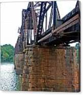 Railroad Bridge 2 Canvas Print