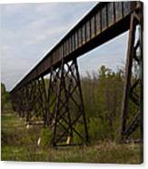 Railroad High Bridge 3 Canvas Print