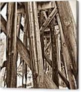 Railroad Trussel Canvas Print