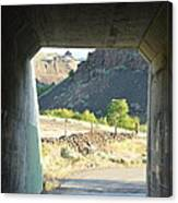 Railroad Tunnel Canvas Print
