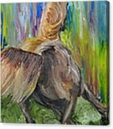 Rain Dancer Canvas Print