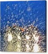 Rain On My Windshield Canvas Print
