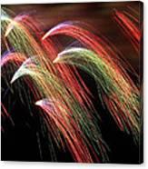 Rainbow Burst Canvas Print