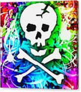 Rainbow Skull 3 Of 6 Canvas Print