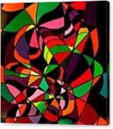 Rainbow Snake 1 Canvas Print