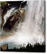 Rainbow Under Vernal Falls 2 Canvas Print