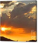 Rainey Sunset Canvas Print