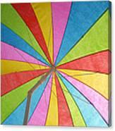 Raining Sunshine Canvas Print