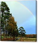 Rainy Day Rainbow Canvas Print
