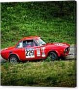 Rally Lancia 02 Canvas Print