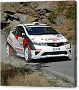 Rally Race Canvas Print