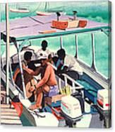 Ramon's Glass Bottom Boat Canvas Print