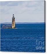 Rams Island Ledge Light Canvas Print