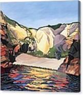 Ramsey Island - Land And Sea No 2 Canvas Print