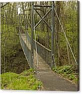 Ramsey Swing Bridge 2 Canvas Print
