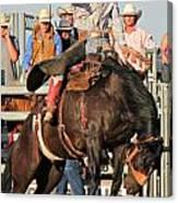 Ranch Bronc Rider Canvas Print