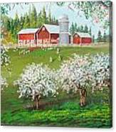 Ranch Home Canvas Print