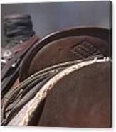 Ranch Saddle Canvas Print