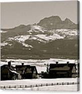 Ranch With A View Canvas Print