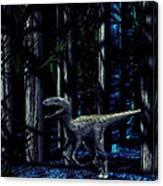 Raptor Dinosaur Canvas Print