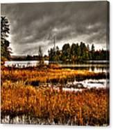 Raquette Lake In The Adirondacks Canvas Print
