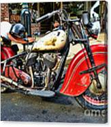 Rare Indian Motorcycle Canvas Print
