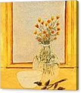 Rare Rosebuds Canvas Print