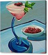 Raspberry Mojito Canvas Print