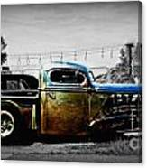Rat Rod Profile Canvas Print