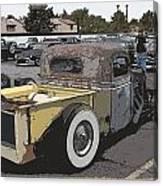 Rat Truck Canvas Print
