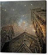 Magical Rattling Sky Canvas Print