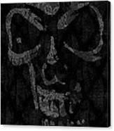Raven Skull Canvas Print