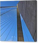 Ravenel Overhead Day - Vertical Canvas Print