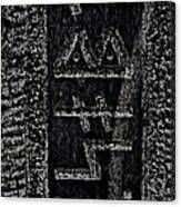 Reading Stones Canvas Print