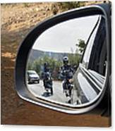 Rear View Riders Canvas Print