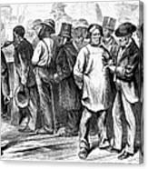 Reconstruction, 1870 Canvas Print