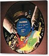 Record Canvas Print