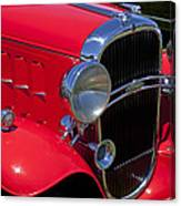 Red 1932 Oldsmobile Canvas Print
