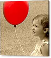 Red Baloon Canvas Print