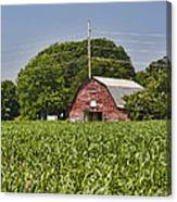 Red Barn - What Charm Canvas Print