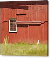 Red Barn Of New Jersey Canvas Print