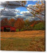 Red Barn1 Canvas Print