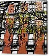Red Brick Building Canvas Print